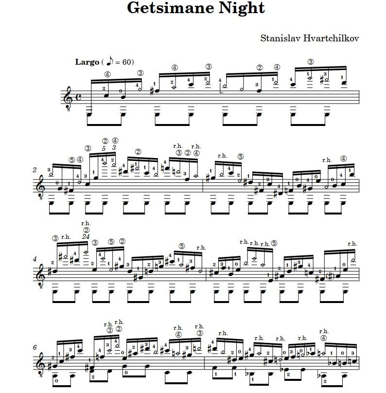 Gethsemane Night Image