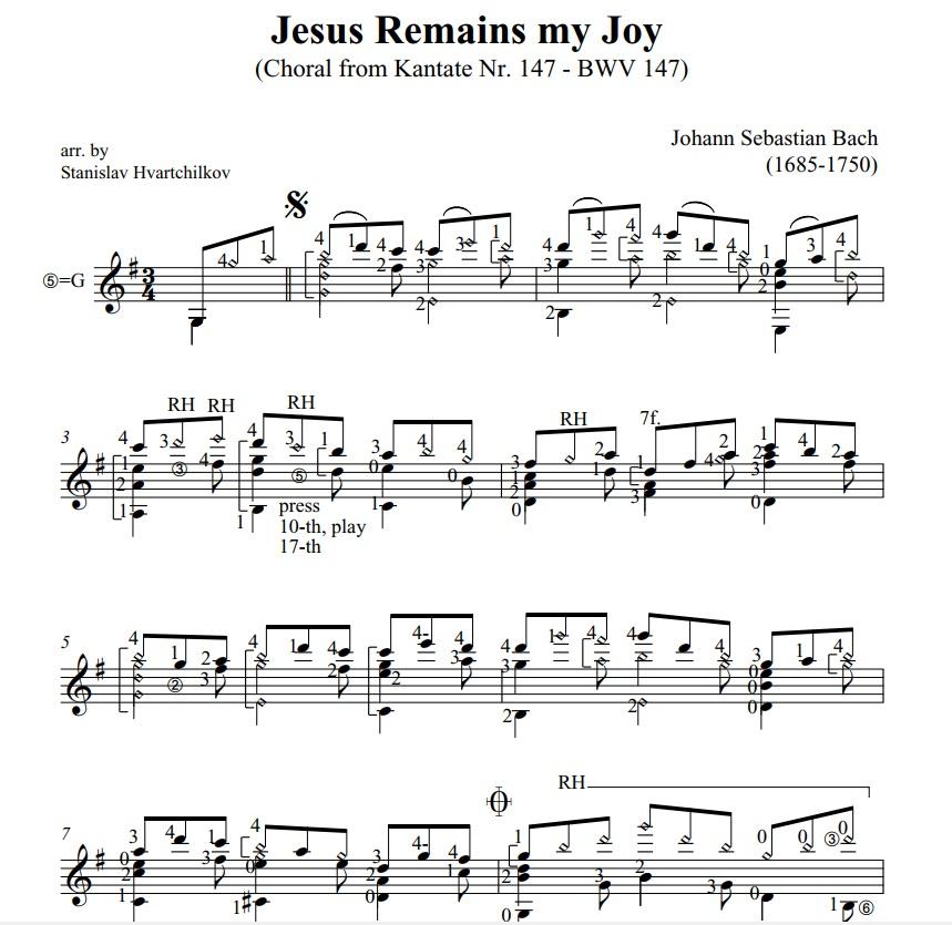 """Jesus bleibet meine Freude"" (BWV 147) Image"