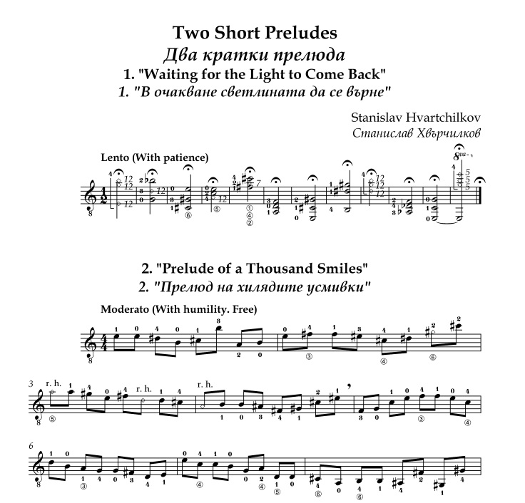 Two short preludes Image