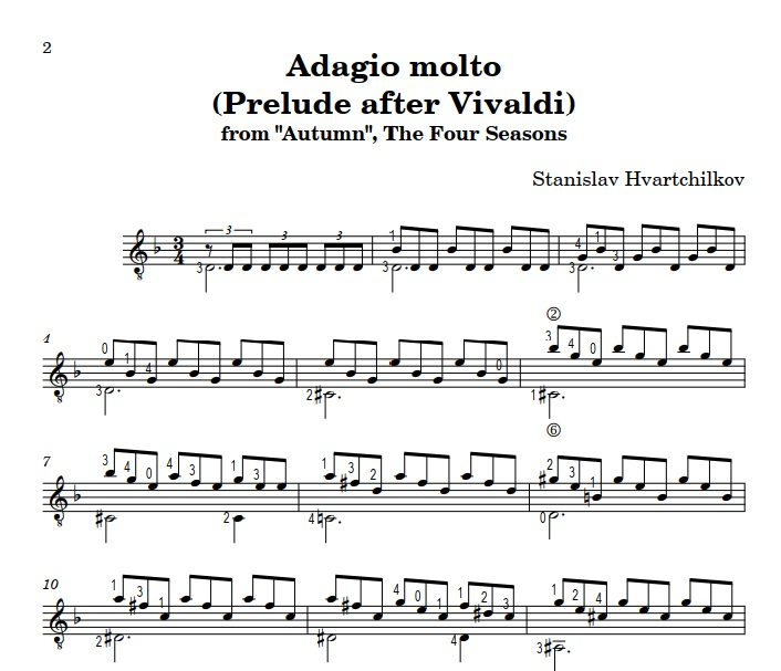 "Adagio Molto (from ""Autumn"") Image"