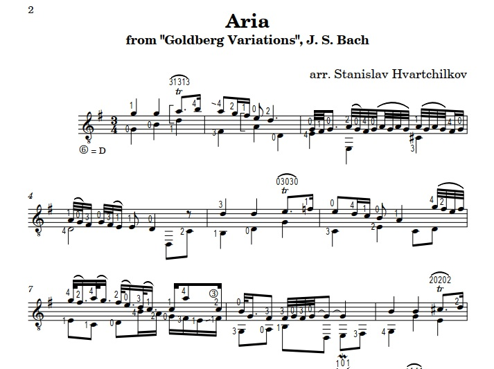 """Aria Goldberg Variations"" Image"